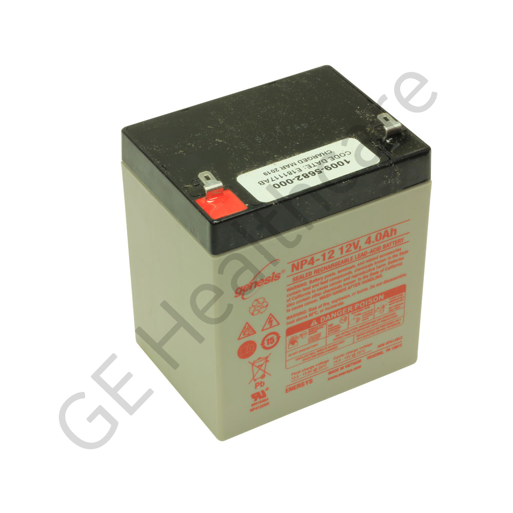 Battery Sealed Lead Acid Rechargeable 12V 4Ah