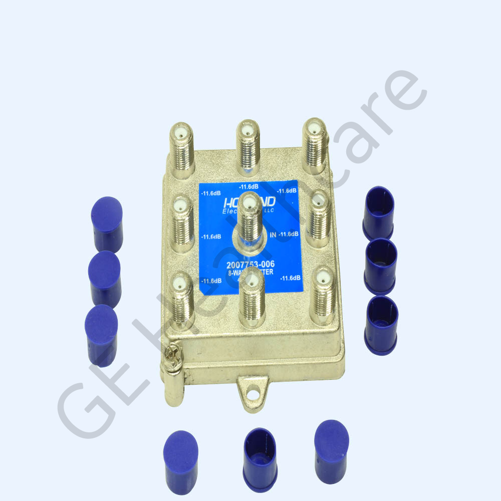 Radio Frequency (RF) Splitter F Connector 8-Way