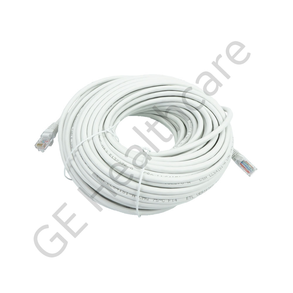 Cable Assembly RJ45 White 100ft