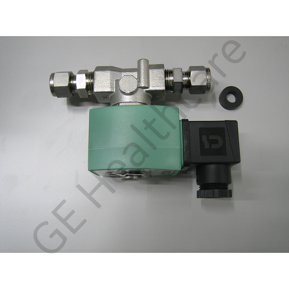 Solenoid Valve for He Cooling Manifold